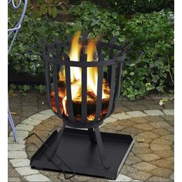 TEPRO Feuerkorb, Höhe: 45  cm, schwarz