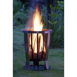 LANDMANN Feuerkorb, Ø 55 cm, Höhe: 69  cm, edelstahlfarben