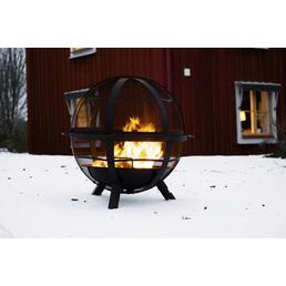 LANDMANN Feuerkorb, Ø 86 cm, Höhe: 79,5  cm, schwarz