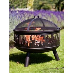 BUSCHBECK Feuerschale »Wildfire«, Ø 61 cm, Höhe: 61  cm, bronzefarben, pulverbeschichtet