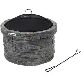 TEPRO Feuerstelle, Ø 67,5 cm, Höhe: 59  cm, schwarzgrau