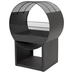 BUSCHBECK Feuerstelle »Porthole«, Höhe: 80  cm, schwarz