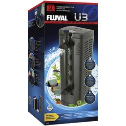 FLUVAL Filter »U-Serie«, 6 W, für Aquarien bis: 150 l, schwarz