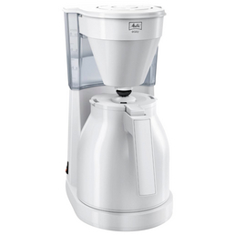 MELITTA Filterkaffeemaschine, 1050 W, weiß