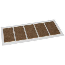 HETTICH Filzgleiter, Synthetischer Filz, Braun, 40 x 2 x 90 mm