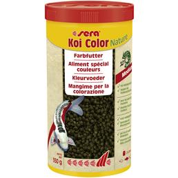sera Fisch-Farbfutter »Koi Color Nature Medium«, Pond, 1000 ml (350g)