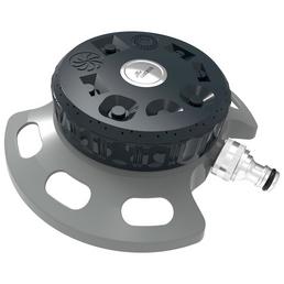 MR. GARDENER Flächenregner, Aluminium, grau/schwarz