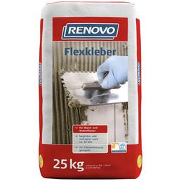 RENOVO Flexkleber, 25 kg, Grau