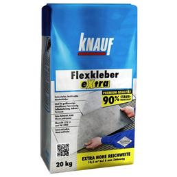 KNAUF Flexkleber, Extra, 20 kg, Grau