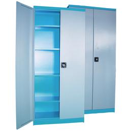 GÜDE Flügeltürenschrank, LxBxH: 43 x 92 x 195 cm, Blau