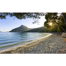 KOMAR Foto-Vliestapete »Lonely Paradise«, Breite 450 cm, seidenmatt
