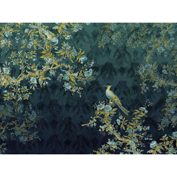 KOMAR Foto-Vliestapete »Paradis«, Breite 350 cm, seidenmatt