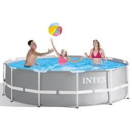 INTEX Framepool , rund, Ø x H: 366 x 99 cm
