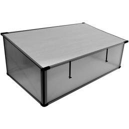 PERGART Frühbeet »Levana 2«, B x L x H: 55 x 95 x 32 cm, Aluminium, grau