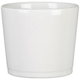 SCHEURICH Frühlingstopf »SPRING«, Höhe: 10,5 cm, weiß, Keramik