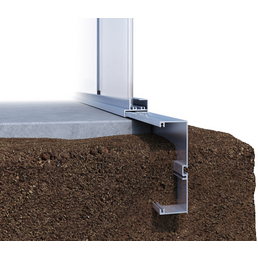 KGT Fundament für Gewächshaus »Linea I«, Aluminium