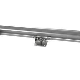 BIOHORT Fundament »SmatBase«, Stahl/Aluminium, BxL: 252 x 252 cm