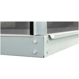MR. GARDENER Fundamentrahmen für Gewächshäuser, Aluminium