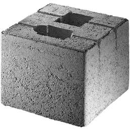 MR. GARDENER Fundamentstein »Zaunpfosten«, BxHxL: 20 x 17 x 20 cm, Beton