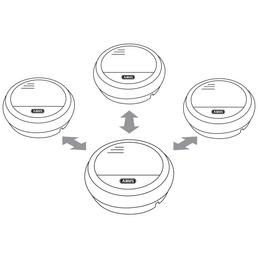 ABUS Funk-Rauchmelder »RM 40 Li«, 9-V-Batterie