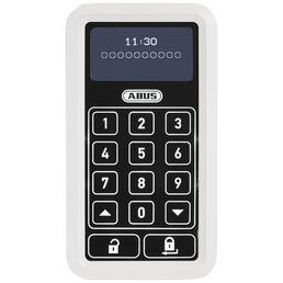 ABUS Funktastatur »HomeTec«, Pro, mit beleuchtetem Display mit Touch-Oberfläche