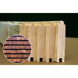 PALMAKO AS Fußboden für Gartenhäuser  »Tina«, BxHxt: 359 x 1,9 x 389 cm, Holz