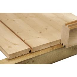 WOLFF Fußboden für Gartenhäuser »Venlo A«, BxHxt: 238 x 16 x 209 cm, Fichtenholz