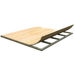 KARIBU Fußboden für Gartenhaus, BxT: 300 x 300 cm, Fichte