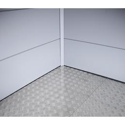 WOLFF Fußboden für Gerätehäuser  »Eleganto«, BxT: 180 x 180 cm, Stahlblech