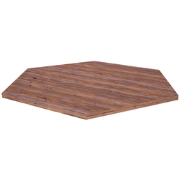PALMAKO AS Fußboden für Pavillon »Betty 1«, BxHxT: 337 x 2,8 x 337 cm, braun, Holz