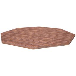 PALMAKO AS Fußboden für Pavillon »Betty 2«, BxHxT: 465 x 2,8 x 465 cm, braun, Holz