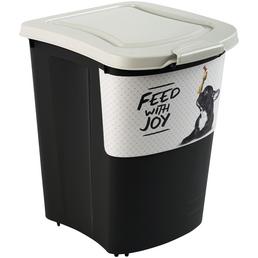 ROTHO MYPET Futterbehälter »feed with joy«, BxHxL: 37 x 50 x 41 cm, Kunststoff