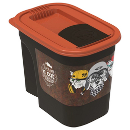 ROTHO MYPET Futterbehälter »vintage«, BxHxL: 13,6 x 16,2 x 19,5 cm, Kunststoff