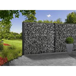 FLORAWORLD Gabionen-Set, BxHxL: 12 x 83 x 201 cm, Stahl