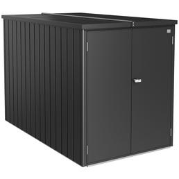 BIOHORT Garage »MiniGarage«, BxT: 122 x 203 cm (Außenmaße), Stahl