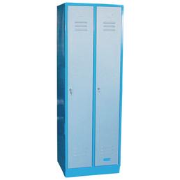 GÜDE Garderobenschrank, LxBxH: 50 x 60 x 177,5 cm, Blau