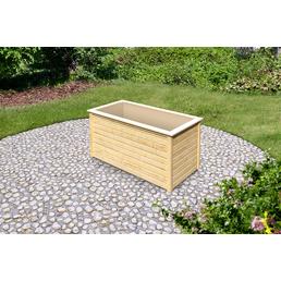 KARIBU Garten-Fertigbausatz »Hochbeet«, BxHxL: 89 x 82 x 173 cm, Holz