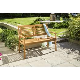 CASAYA Gartenbank »Paolo«, 2-Sitzer, BxTxH: 119 x 61,5 x 89,5 cm