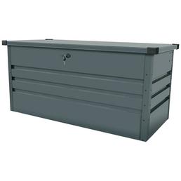 FLORAWORLD Gartenbox »Premium«, BxHxT: 132 x 61 x 62 cm, anthrazit