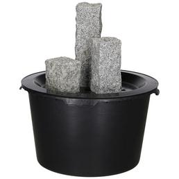 SILEX Gartenbrunnen, grau