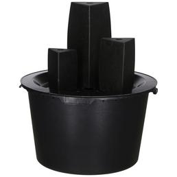 SILEX Gartenbrunnen »Mailand«, schwarz