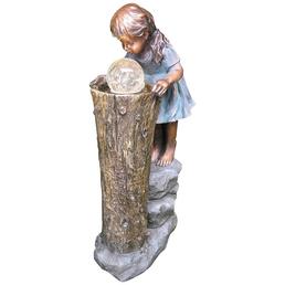 GRANIMEX Gartenbrunnen »Zhisheng«, Höhe: 83 cm, bronzefarben, inkl. Pumpe