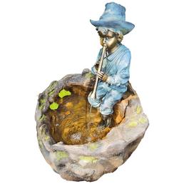 GRANIMEX Gartenfigur, bronzefarben, inkl. Pumpe