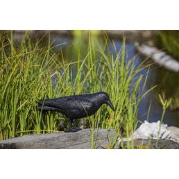 HEISSNER Gartenfigur, Krähe, Kunststoff, schwarz
