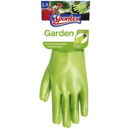 SPONTEX Gartenhandschuhe »Garden«, hellgrün, Nitrilbeschichtet