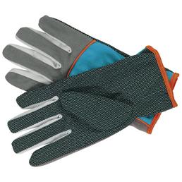 GARDENA Gartenhandschuhe, Größe: M(8), grau, KeraTect-glasiert