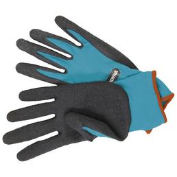 GARDENA Gartenhandschuhe, Größe: M(8), schwarz/tuerkis, KeraTect-glasiert