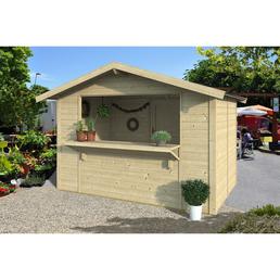 GARTENPRO Gartenhaus »3020«, BxT: 340 x 243 cm, Satteldach