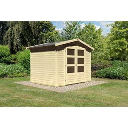 woodfeeling gartenhaus amberg b x t 272 x 210 cm. Black Bedroom Furniture Sets. Home Design Ideas