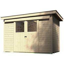 weka gartenhaus b x t 259 x 338 cm. Black Bedroom Furniture Sets. Home Design Ideas